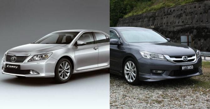 Toyota Camry và Honda Accord: Mèo nào cắn mỉu nào?