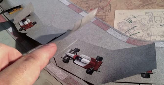 Lịch sử Honda video Stop-Motion thực hiện bằng kỹ thuật quay phim và vẽ tay