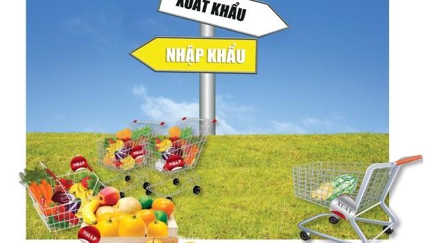 Thị trường trái cây: Nhập khẩu rộn ràng, xuất khẩu gian nan