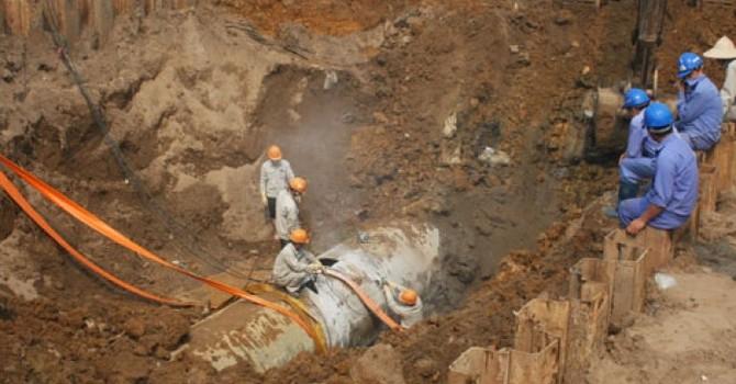 Hà Nội xin cơ chế làm đường ống nước sạch sông Đà