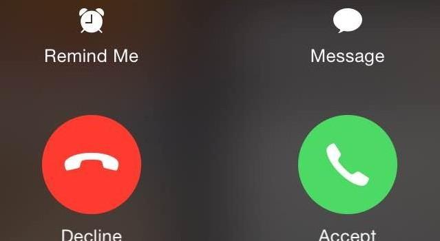 Vì sao nút nhận, từ chối cuộc gọi thi thoảng hiện trên iPhone?
