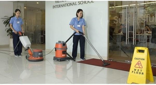 Công ty quét dọn lớn nhất Việt Nam bán... mảng quét dọn cho nước ngoài