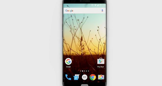 Ý tưởng Galaxy S7 edge màn hình cong, loa kép