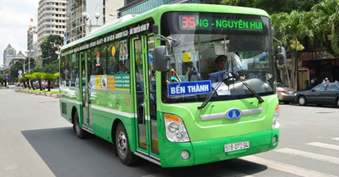 Đầu tư gần 263 tỷ đồng cho vé xe buýt điện tử thông minh