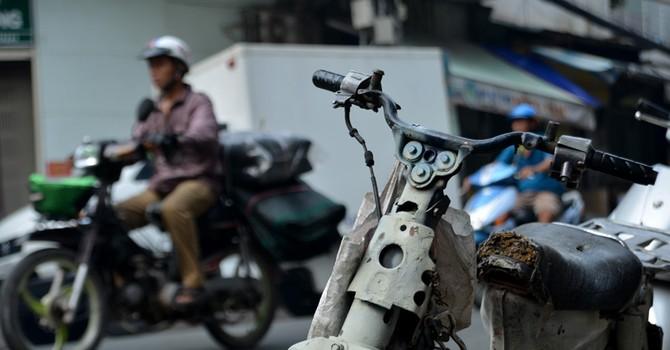 """Tập đoàn """"xe xác ướp"""" dọc ngang Sài thành"""