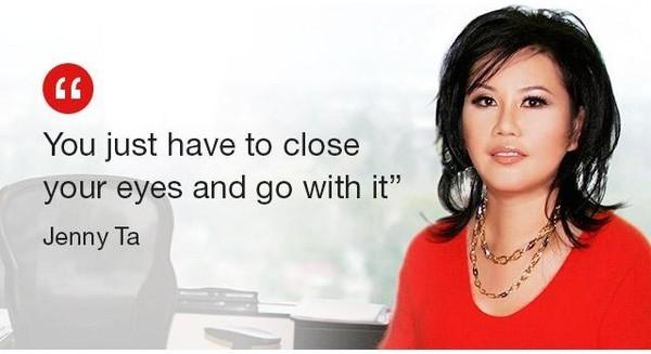 """Lọ lem gốc Việt Jenny Ta: """"Cứ nhắm mắt và làm đi, đừng nghĩ nhiều"""""""