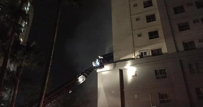 Người ở chung cư phập phồng lo cháy không đường thoát