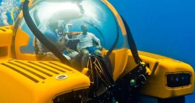 Tàu ngầm cá nhân: Món đồ chơi triệu USD của các tỷ phú
