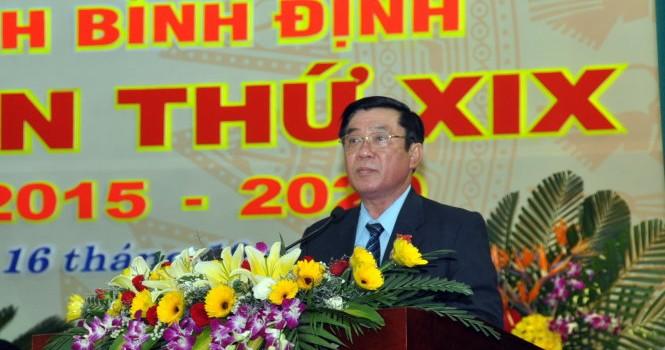 Ông Nguyễn Thanh Tùng làm Bí thư tỉnh ủy Bình Định