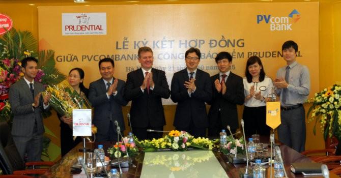 PVcomBank ký kết hợp đồng đại lý bảo hiểm với Prudential Việt Nam