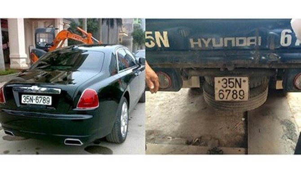 Rolls-Royce 17 tỷ đồng đeo biển số giả 35N-6789