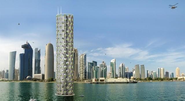 Thành phố trong tương lai sẽ cao tới 180 tầng?