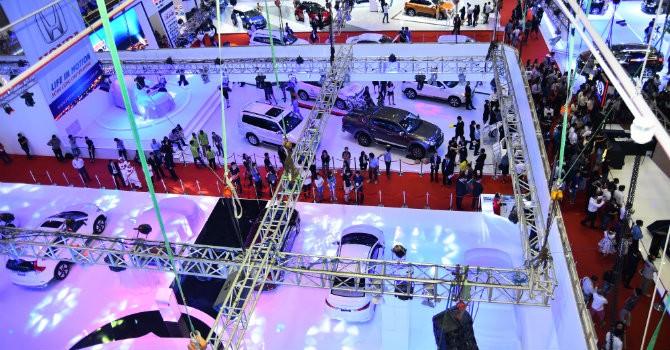 150 mẫu xe góp mặt tại Vietnam Motor Show 2015