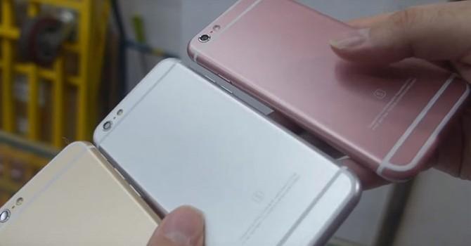 """Xuất hiện iPhone 6S giả """"bá đạo"""" giá chỉ 800.000 đồng"""