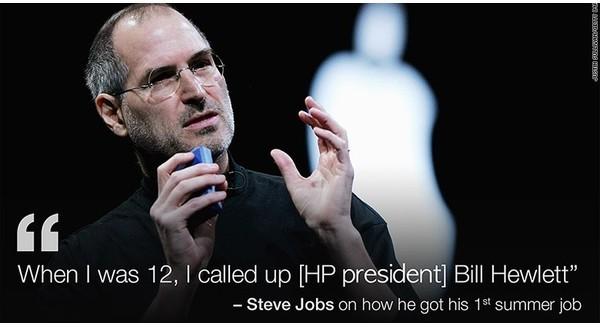 Muốn tìm được công việc tốt, hãy thử theo cách sau của Steve Jobs!