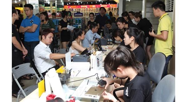 Người Việt mua gần 8.000 chiếc iPhone 6s, 6s Plus một ngày