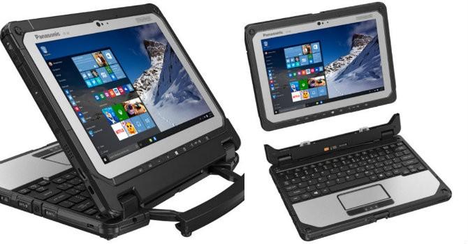 """Panasonic """"đua"""" theo giới công nghệ làm laptop lai tablet"""