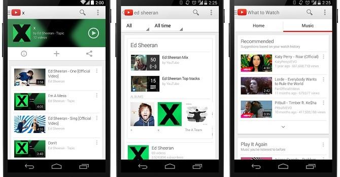 Google ra mắt dịch vụ YouTube Music
