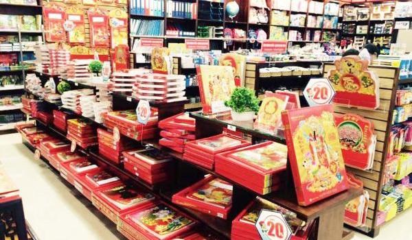 Thị trường lịch: Chưa đến Tết đã … giảm giá