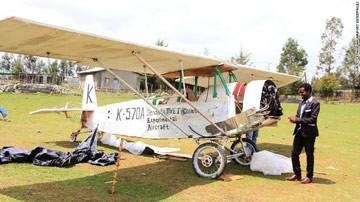 Chế tạo máy bay từ đồ cũ