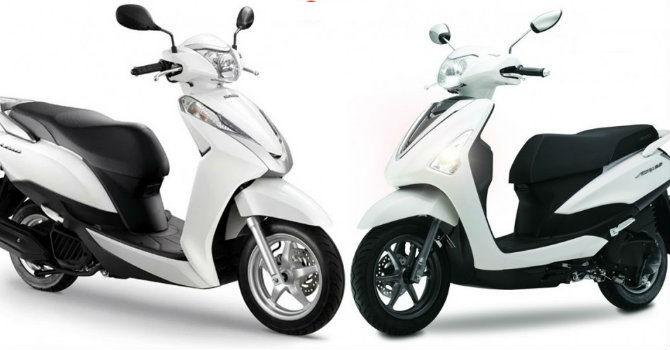 """Liệu Yamaha Acruzo có """"soán ngôi"""" của Honda LEAD?"""