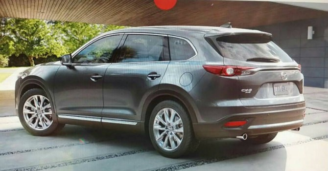 """[Ảnh] Rò rỉ hình ảnh """"tân binh"""" Mazda CX-9 SUV"""