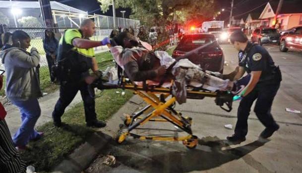 Mỹ: Xả súng vào đám đông 500 người, nhiều người trúng đạn