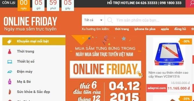 [Sự kiện công nghệ tuần] Sự thật về khuyến mại ảo thiết bị di động trên Online Friday?