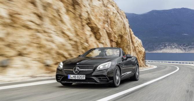 [Ảnh] Chiêm ngưỡng mẫu xe Mercedes-Benz SLC 2017