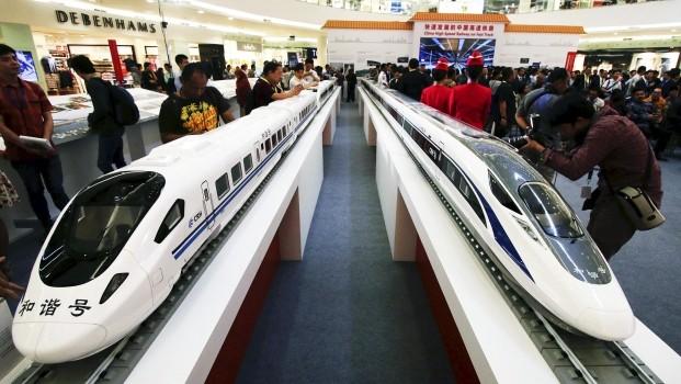 Trung - Nhật cạnh tranh giành dự án đường sắt Indonesia