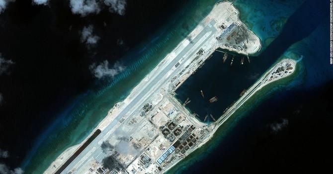 Nhật, Philippines phản đối Trung Quốc bay thử ở đá Chữ Thập