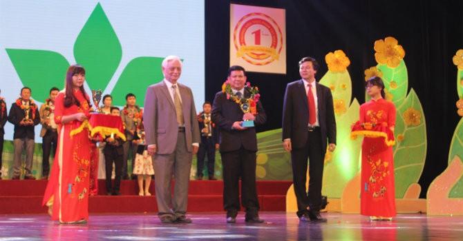 Nông dược HAI nhận giải thưởng chương trình Việt Nam Top Brands