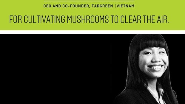 """Nữ startup Việt vào """"Top 100 nhà tư tưởng hàng đầu thế giới"""""""