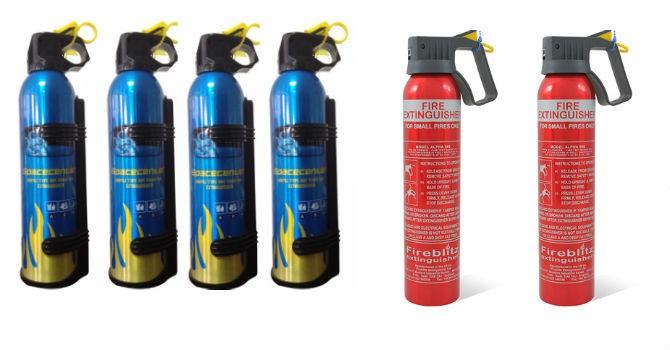 Bình chữa cháy trên ô tô loạn giá, khó kiểm định chất lượng?
