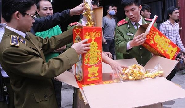 """150 tấn hàng """"vỏ châu Âu ruột Trung Quốc"""""""