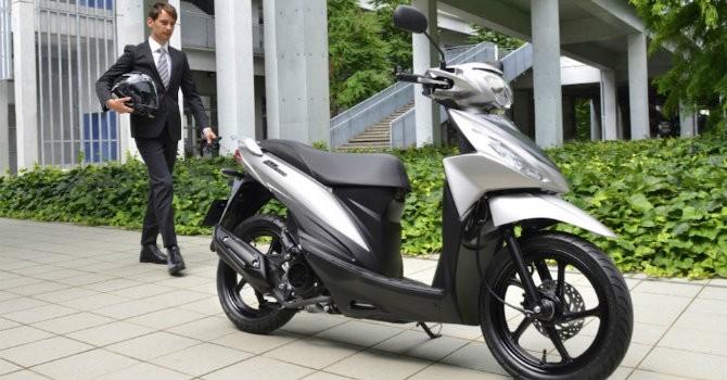 Suzuki sắp ra xe tay ga mới, cạnh tranh với Honda Vision?
