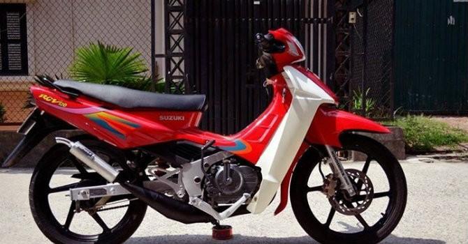 """Những mẫu xe máy """"vắng bóng"""" tại thị trường Việt Nam"""