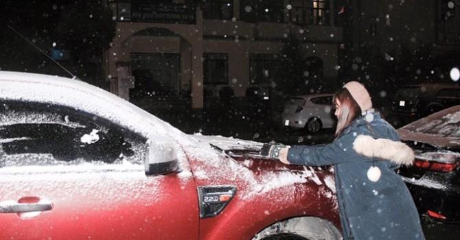 Hình ảnh tuyết rơi, băng giá ở Sa Pa và Mẫu Sơn