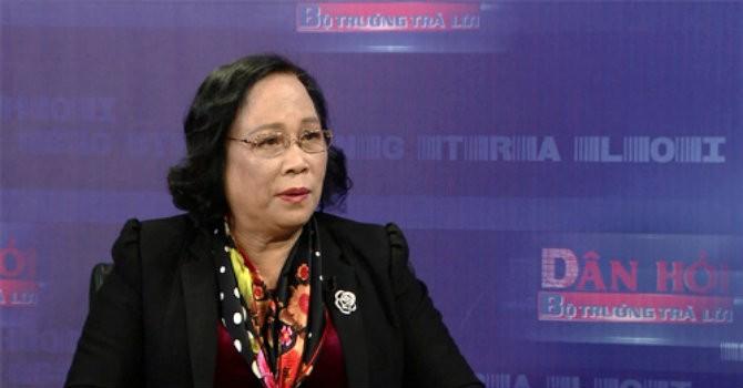 Bộ trưởng Phạm Thị Hải Chuyền: Thưởng tết thì nên thưởng bằng tiền mặt