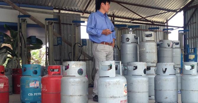 Từ 1/2, giá gas giảm 20.000 đồng/bình 12 kg