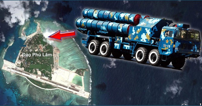 """Trung Quốc đưa tên lửa ra Hoàng Sa, còn nói báo chí phương Tây """"dựng chuyện""""!"""