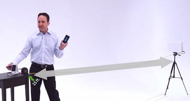 iPhone 7 có thể sạc pin từ xa