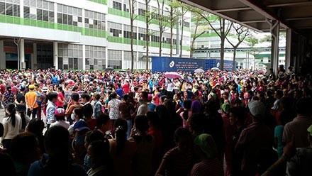 Đồng Nai: 17.000 công nhân Công ty Pouchen Việt Nam ngừng việc tập thể