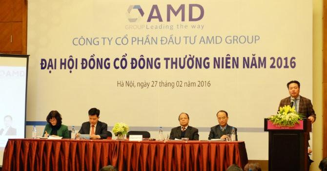 AMD Group đại hội thành công và tăng vốn điều lệ lên 624 tỷ đồng trong năm 2016