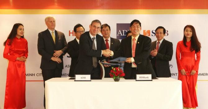 HDBank ký kết thỏa thuận tài trợ thương mại với ADB