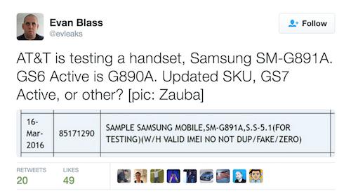 Galaxy S7 có thêm phiên bản siêu bền