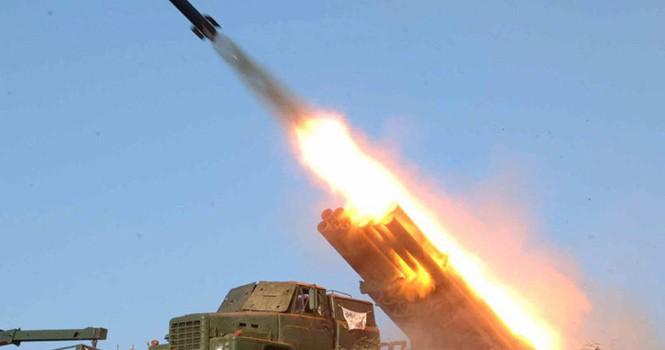 Triều Tiên bắn thử nghiệm tên lửa tầm ngắn