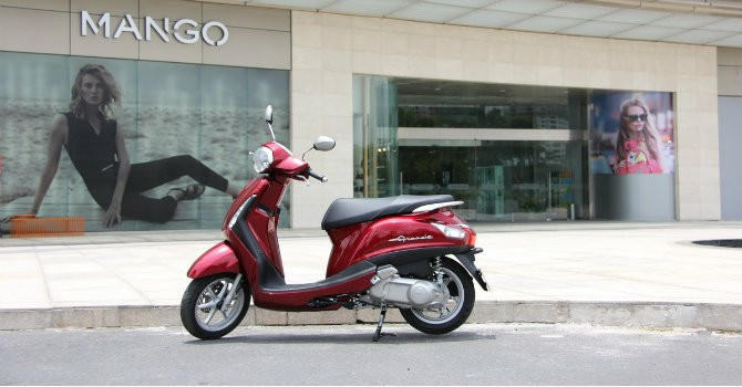 Dính lỗi, gần 100.000 xe tay ga Yamaha Grande bị triệu hồi