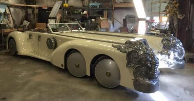 Chiêm ngưỡng mẫu xe kì dị được chế tạo trong 5 năm