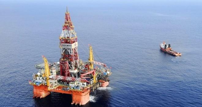 Giàn khoan HD-981 vào vùng chồng lấn trên Biển Đông